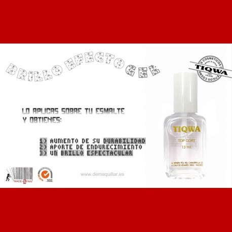 Tiqwa - Tratamiento Top Coat Brillo
