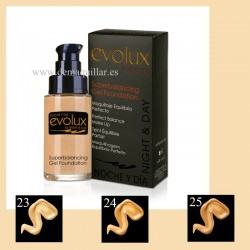 Evolux - Maquillaje Superbalancing Gel Foundation 30 ml bb