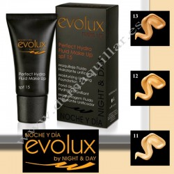 Evolux - Perfect Hydro Fluid make up SPF 15 Maquillaje hidratante